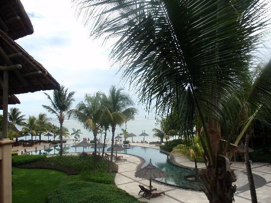 Heritage Awali Golf & Spa Resort : vue de notre chambre