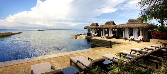 Abaca Boutique Resort: Oceanfront view