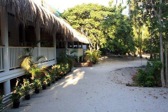 AABANA Beach & Watersport Resort Malapascua: Outside the cottage