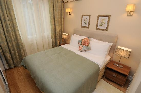 Cheya Residence Tesvikiye: One Bedroom Apartment One Double Bed