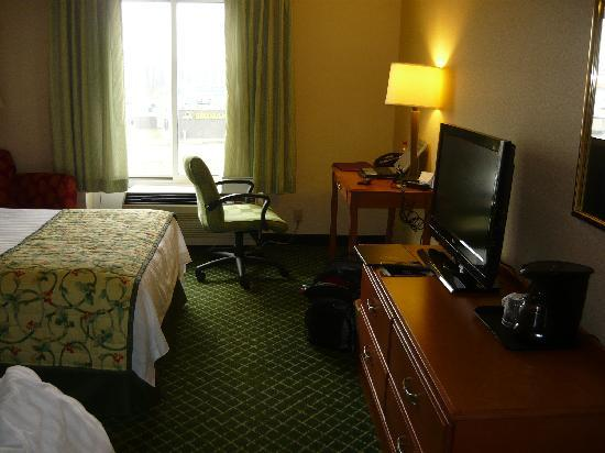 Fairfield Inn Evansville West: Overview of room