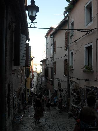 Rovinj-narrow streets