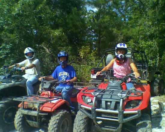 Ash Myrtle Beach Atv Tours Family Ride