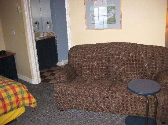 Auberge du Vieux Foyer : sitting area