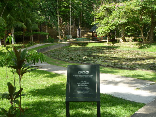 Mindesmærket over Sandakan fangelejren