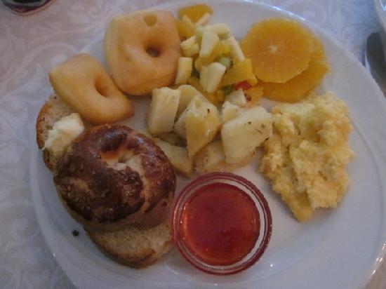 Sirkeci Mansion: a bit of breakfast