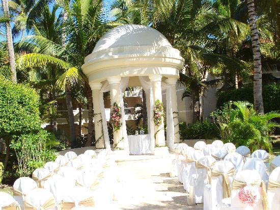 Dreams Palm Beach Punta Cana: tres beau pour les mariages