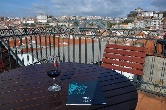 Taylor's Port : The view from the terrace