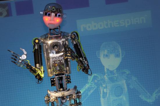 Thinktank Birmingham Science Museum: RoboThespian at Thinktank
