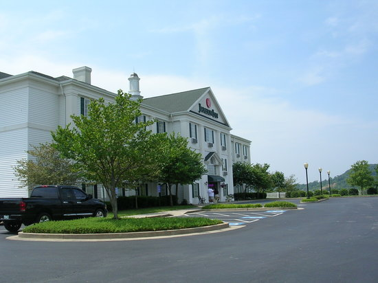Quality Inn Kingsport: Building Entrance