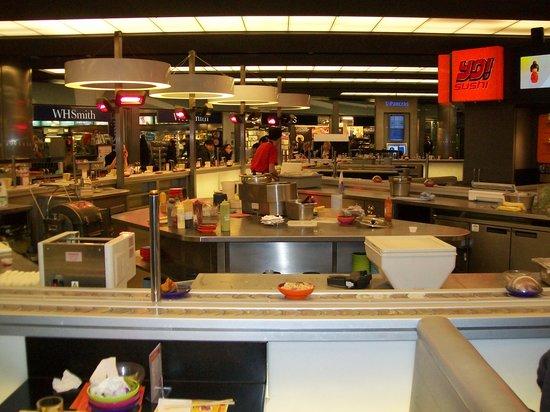 Yo Sushi London Unit St Pancras Station 27 The Circle