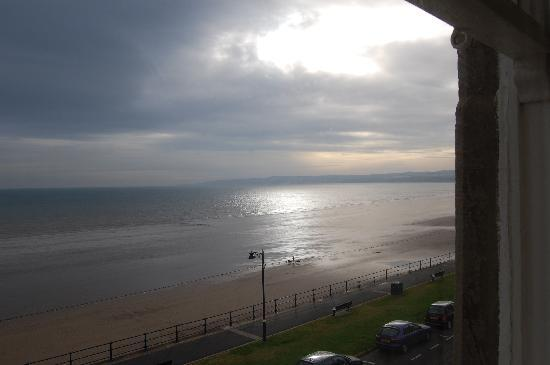 Downcliffe House Hotel: the view