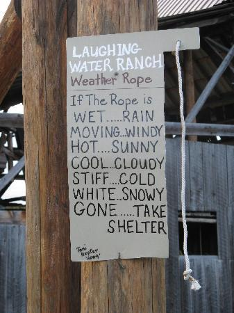 The Ranch at Laughing Water: Laughing Water Weather Station