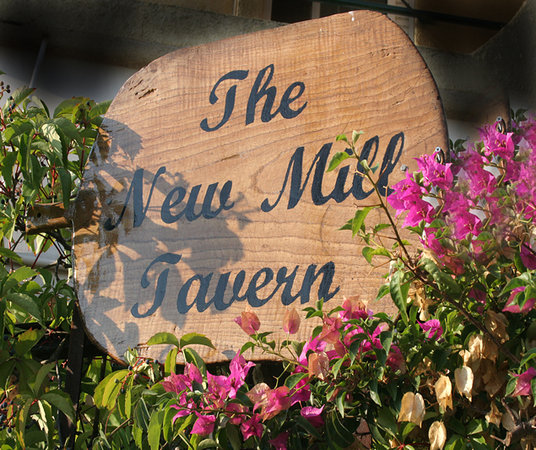Palairos, Grækenland: Welcome to New Mill Tavern
