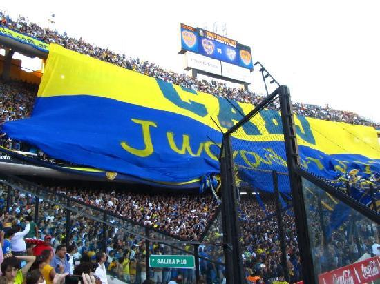 Jacaranda, studio & suite: Boca Juniors match