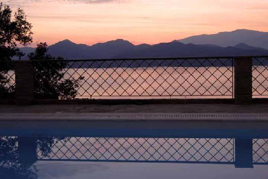 Diodati Villas Lefkada: Pool view