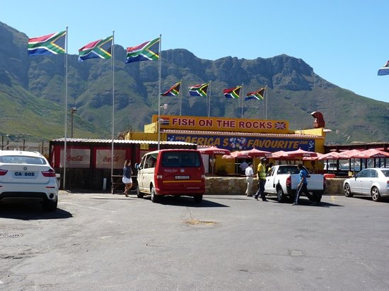 Hout Bay, África do Sul: Great calamari!