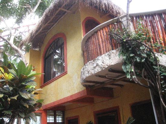 Maison Tulum: Our Room From Below