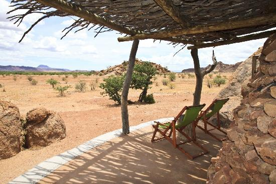 Camp Kipwe: View from our terrace