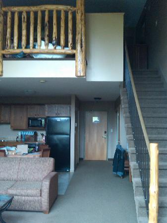Elkwater Lake Lodge and Resort: Our Loft Suite