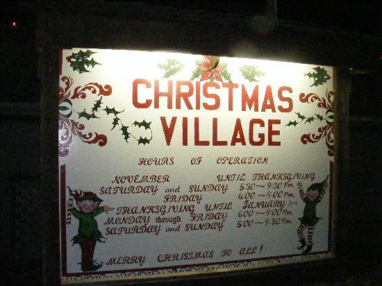 Entrance - Picture of Koziar's Christmas Village, Bernville ...