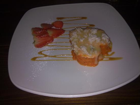 Tree Hotel At Cadmore End : Carrot and Walnut compote