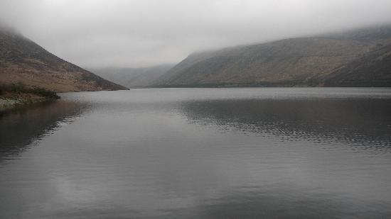 Silent Valley and Ben Crom Reservoirs: Reservoir at Silent Valley