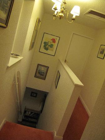 Crown Cottage: Staircase