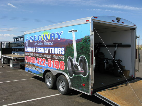 Segway of Lake Havasu: Find this truck for a fun adventure
