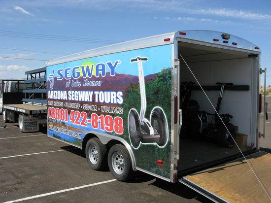 Visites en Segway