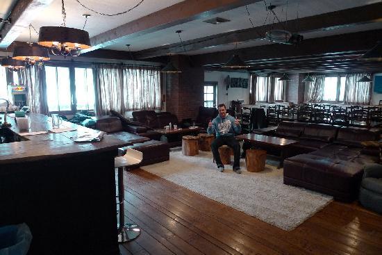 The Lab Hakuba: Very cool common room