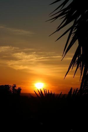 Monte Aguentinha do Campo: Sunset