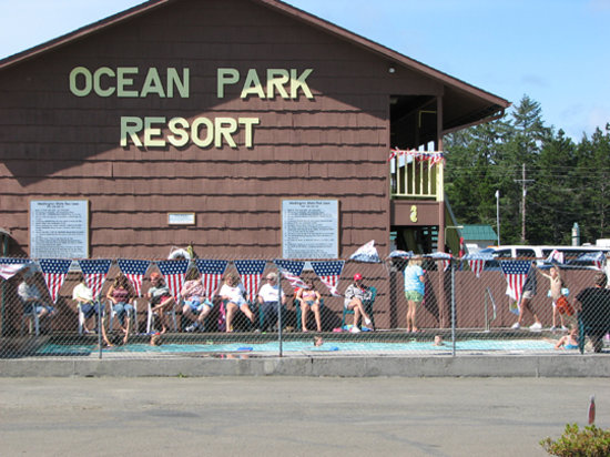 Ocean Park, WA: Motel Swimming Pool