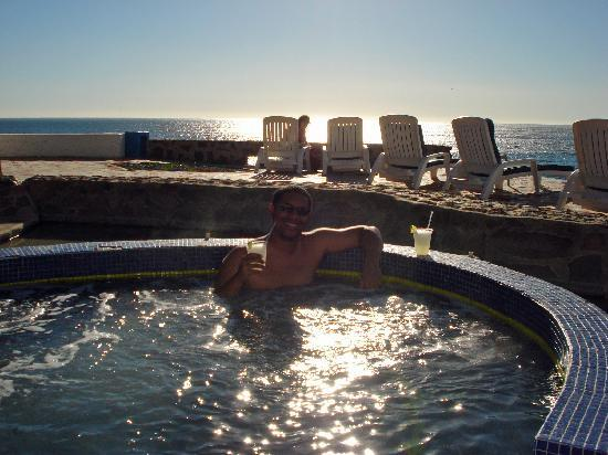 Las Rocas Resort & Spa: One of the hot tubs at Las Rocas