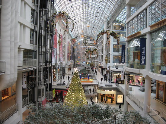 Toronto Eaton Centre Ontario Hours Address Tickets