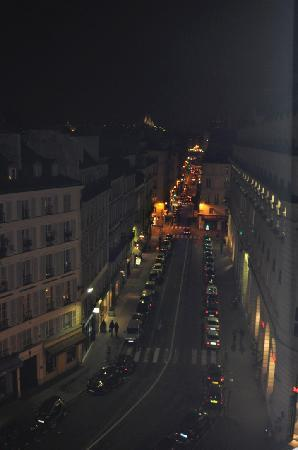 Hotel Pont Royal: View from room -Sacre de Coeur in the far distance