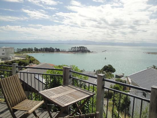 Abel Tasman Villa: View from the deck