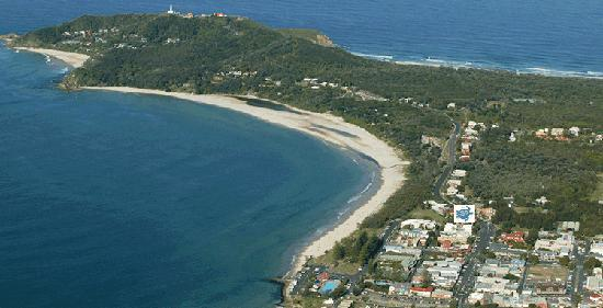 Byron Bay Beachfront Apartments: Cape Byron Headland