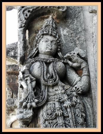 Chennakesava Temple: Belur - Wall Sculpture