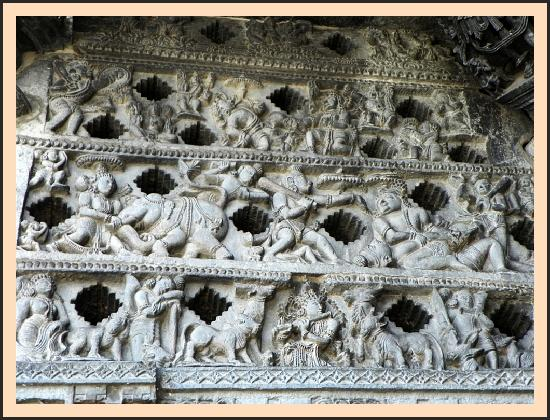 Belur - Lattice Windows