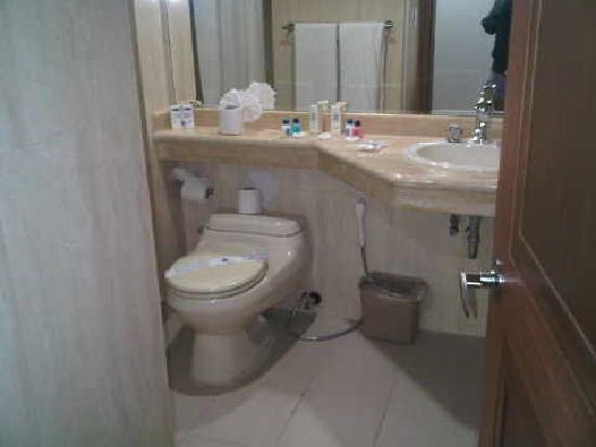 Dunes Hotel & Beach Resort: baño hab zona premium