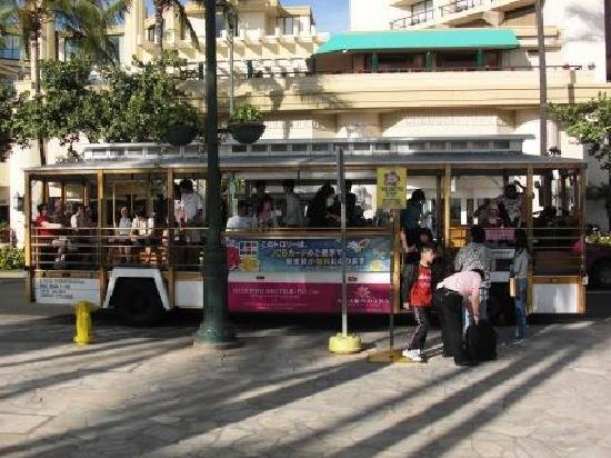 Waikiki Trolley: トロリー