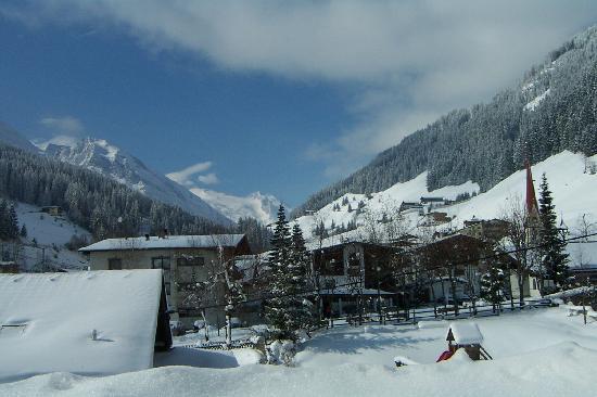 Ferienwohnung Bertoni: view to glacier