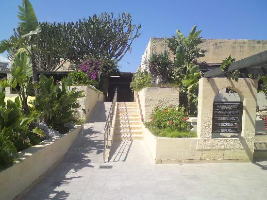Mellieha Holiday Centre: Entrance to the restaurants