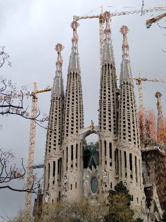 Tryp Barcelona Apolo Hotel: La Sagrada Familia