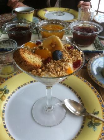 Au Jardin d'Ozanne: petit déjeuner gourmet