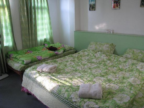 Asmita Bed & Breakfast: spacious triple room