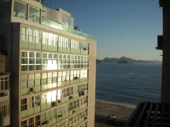 Rio Design Hotel: vistas a la playa de Copacabana desde el hotel