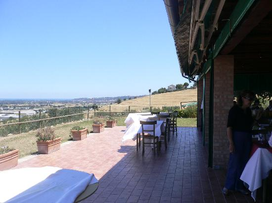 Casa de Campo: the view of the valley