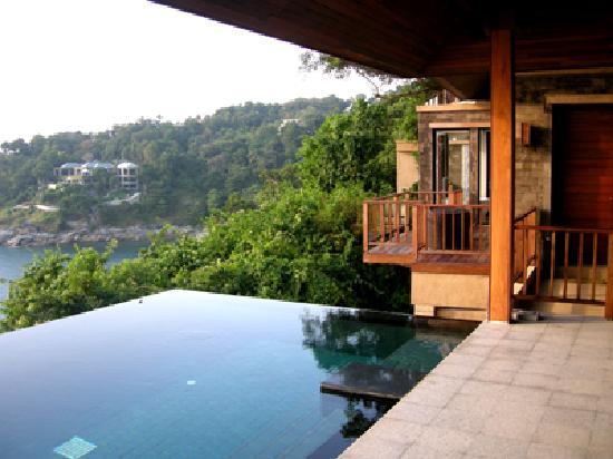 Paresa Resort Phuket: Terrasse